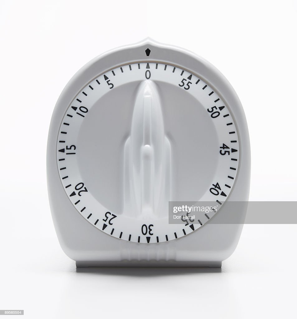 Traditional kitchen timer : Stock Photo