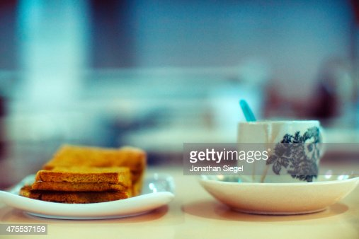 Traditional Kopi And Toast Set