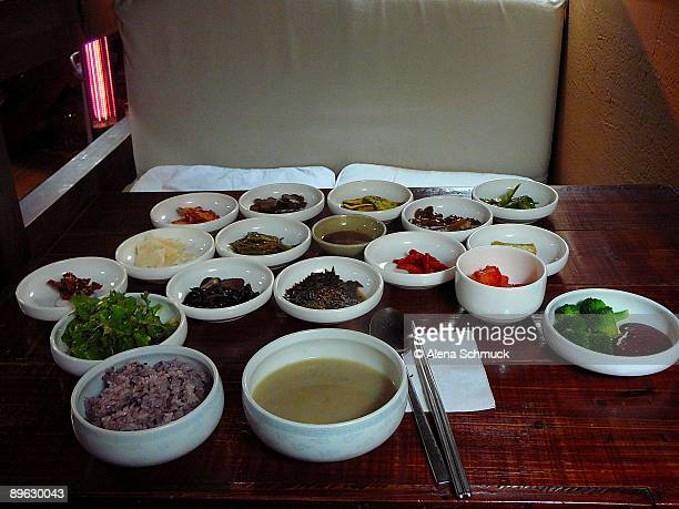 Traditional Korean Buddhist Vegetarian Meal