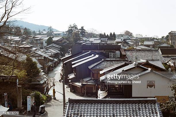 Traditional Kyoto style street