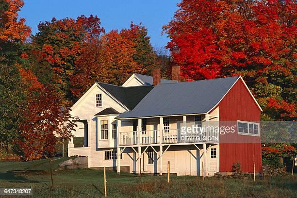 Traditional mansion Vermont Peacham United States of America