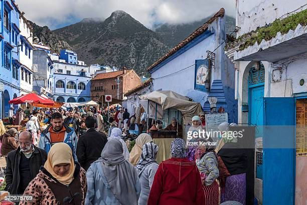 Traditional Market In Chefchaouen, Morocco