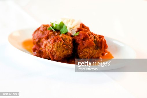 Traditional meat balls