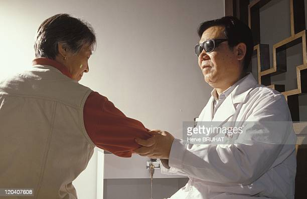 Traditional medicine in China Hospital of Traditional Medicine Houhai At the institute most of the masseurs are blind According to Yang Jin Tu chief...
