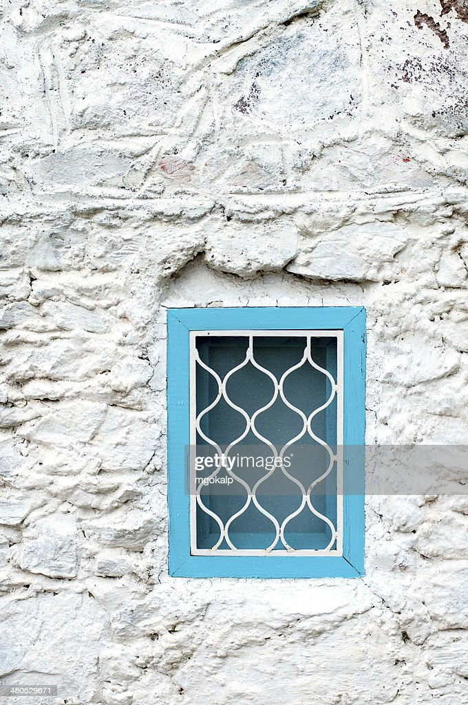 Traditional mediterranean window : Stock Photo