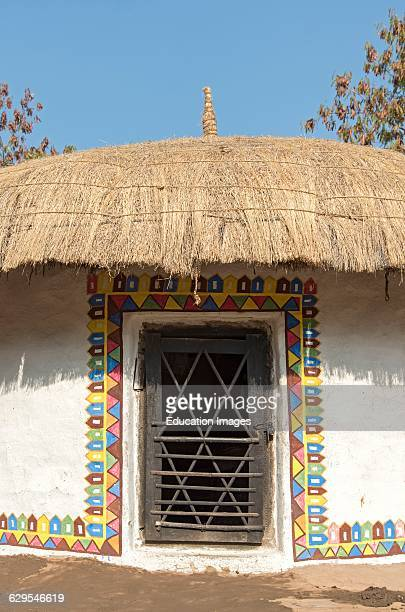 Banni kutch stock photos and pictures getty images for Tribal house