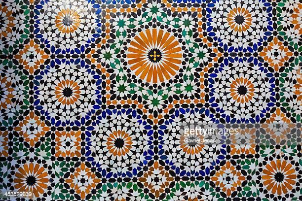 Traditional moroccan interior design