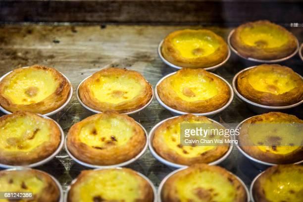 Traditional Portuguese egg tart pastries / Pastel de nata - Macau