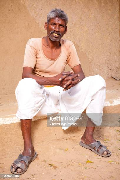 Traditional Rural Indian Male in Rajasthan