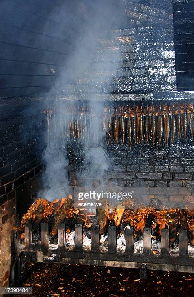 Traditional Smoking oven - smoke mackerels
