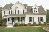 Traditional Style Home with Front Porch