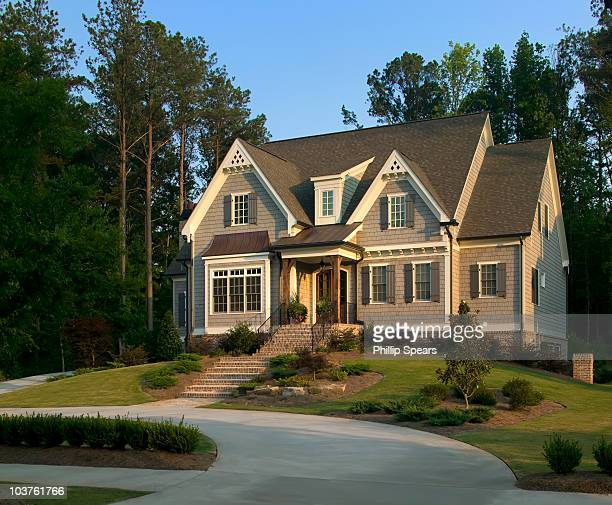 Traditional Suburban House