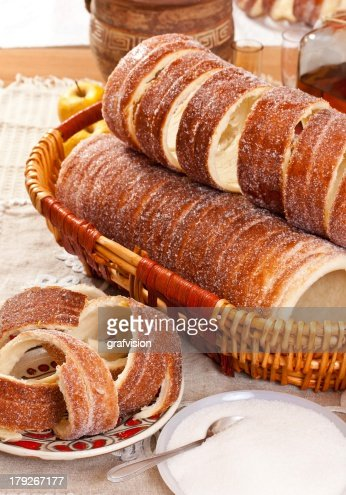 Traditional transylvanian desert : Stock Photo