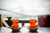 Traditional Turkish Tea in Istanbul