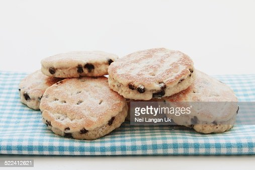 traditional welsh cakes snack