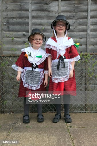 Traditional Welsh Costume