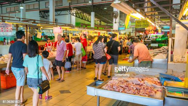 Traditional Wet Market in Kuala Lumpur