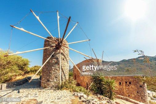 Traditional Windmill, Greece
