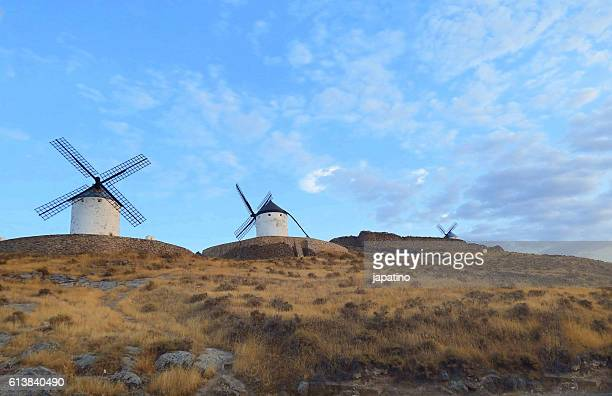 Traditional windmills in Consuegra. Toledo