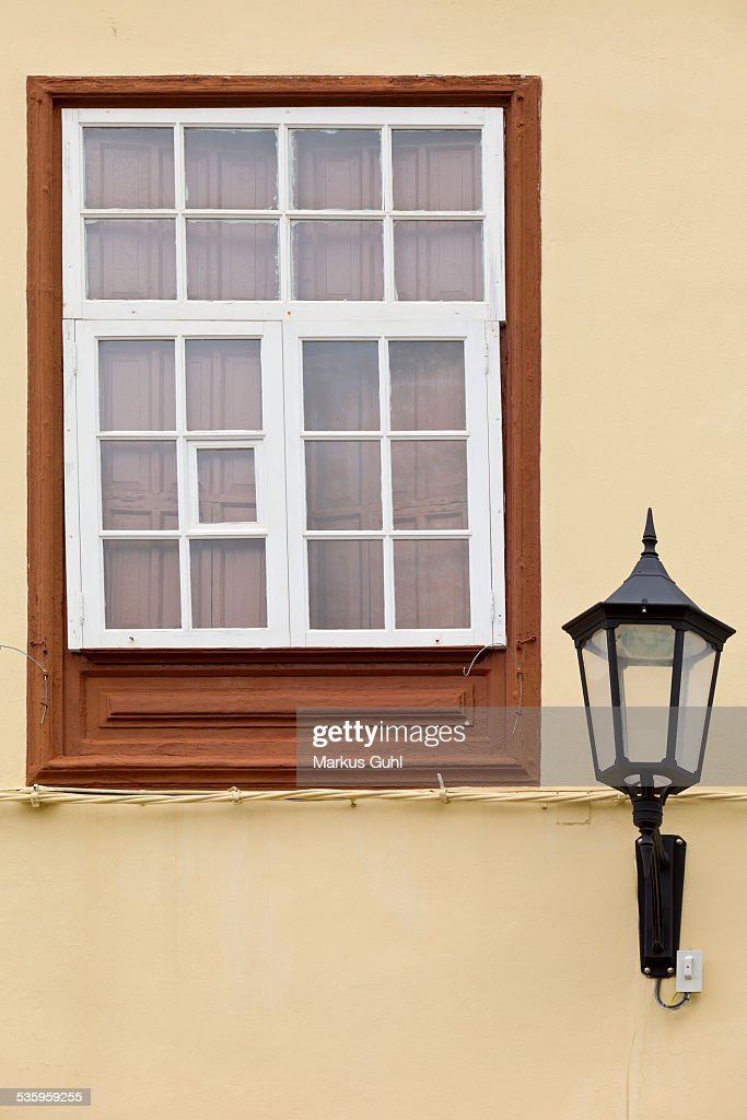 Traditional wooden window : Stock Photo