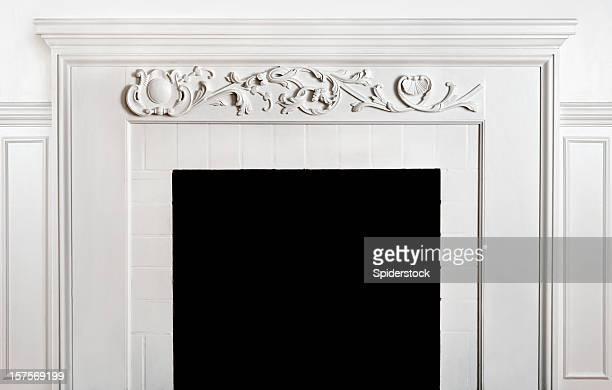 Traditonal Fireplace  And Mantelpiece