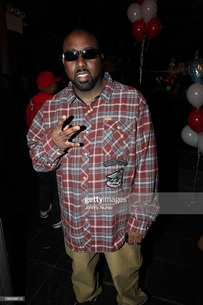 Trae Tha Truth attends 'Cans For Cocktails' on December 17, 2012 in New York City.