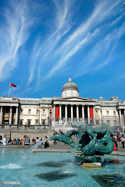 Trafalgar Square, London, Britain.
