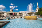 Trafalgar Square , London , England