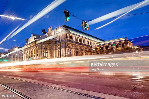 Traffic at Vienna State Opera
