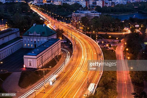 Traffic at Warsaw