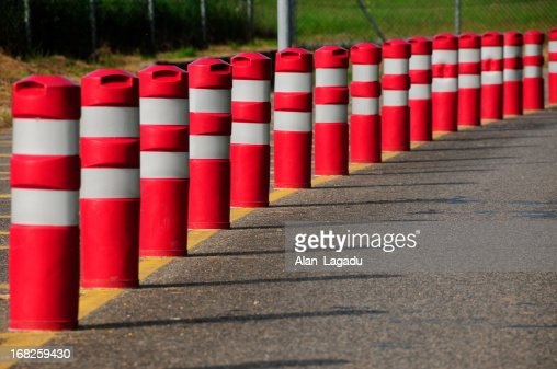 Traffic bollards, Jersey