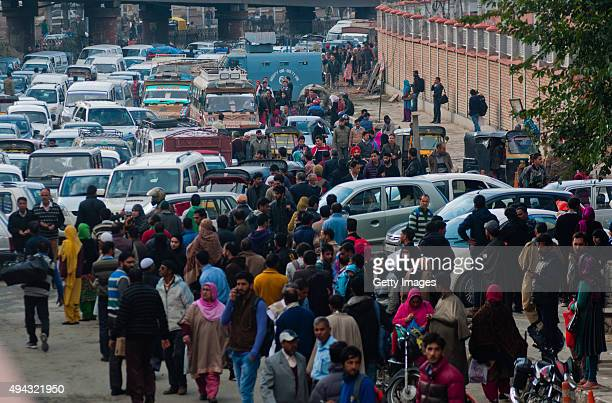 Traffic came to a standstill after a powerful earthquake struck northern Afghanistan with tremors felt as widely as Pakistan and northern India on...