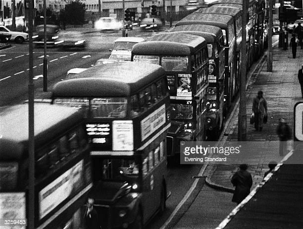Traffic congestion in London