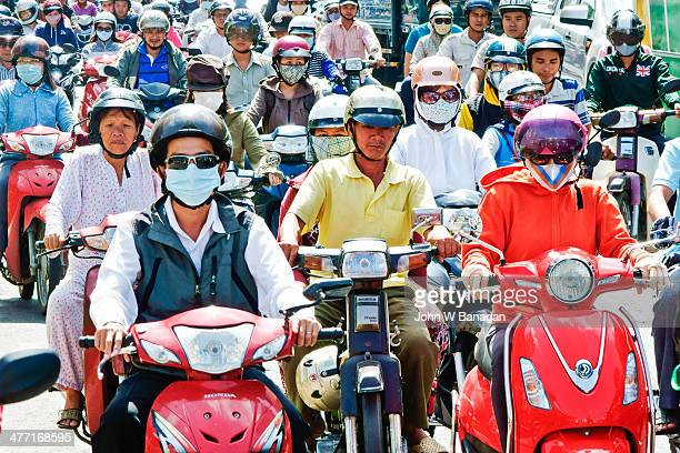 Traffic congestion, Saigon