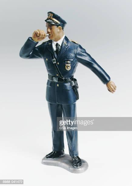Traffic Cop Figurine