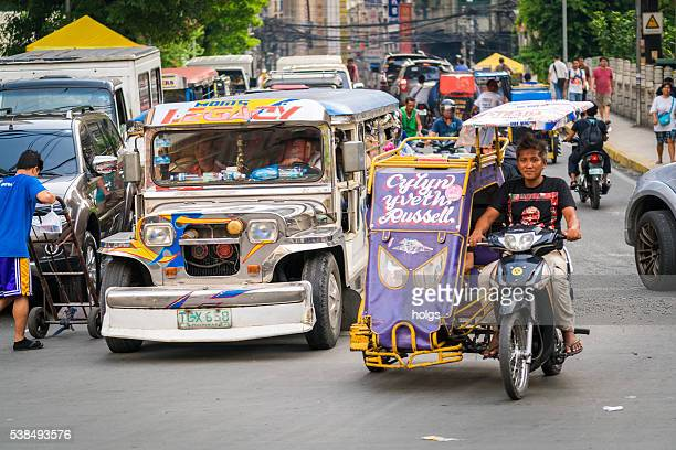 Traffic in Manila, Philippines