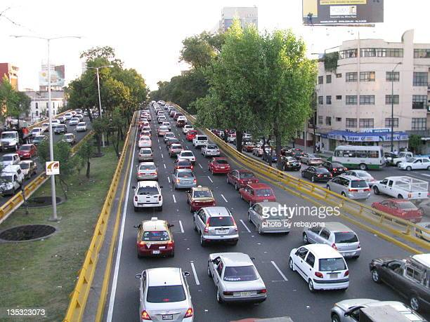 Traffic in Mexico