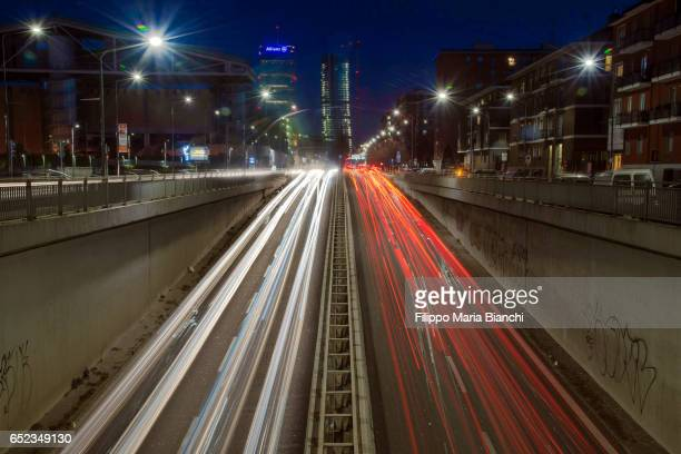 Traffic in Milan