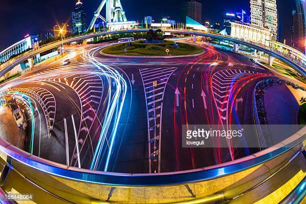 El tráfico en la ciudad moderna