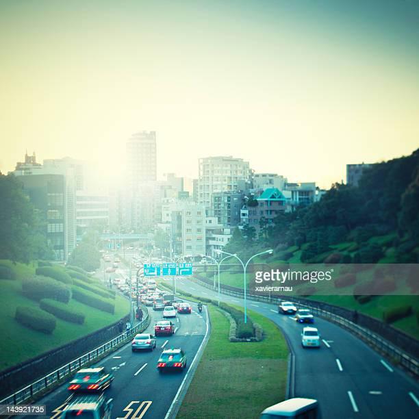 Verkehr in Tokio