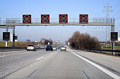 Traffic information system on highway- speed limit