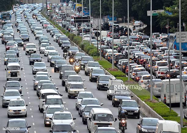 Traffic jam - Crowded