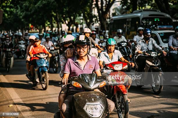 Traffic Jam in Ho Chi Minh City