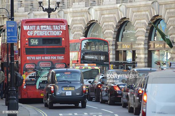 Traffic jam in London