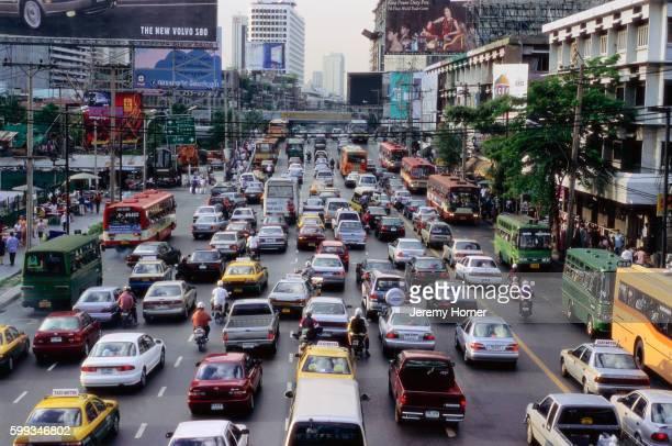 Traffic Jam in Siam Square