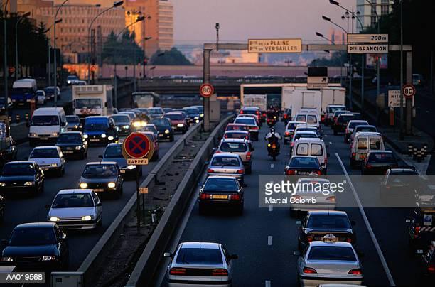 Traffic Jam, Paris, France