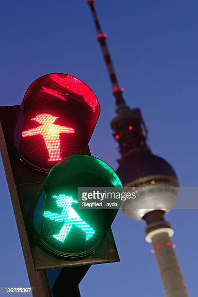 Traffic Light and TV Tower