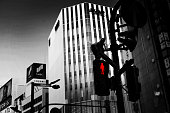 Traffic light at Shinjuku