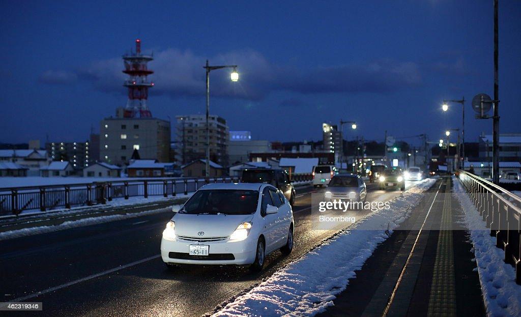 Ichinoseki Japan  city photos : Ichinoseki, Iwate prefecture, Japan, on Sunday, Jan. 18, 2015. Japan ...