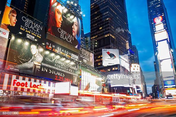 信号を 7 th Avenue タイムズスクエア、Manhattan ,New York